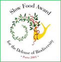 Slow Food Award